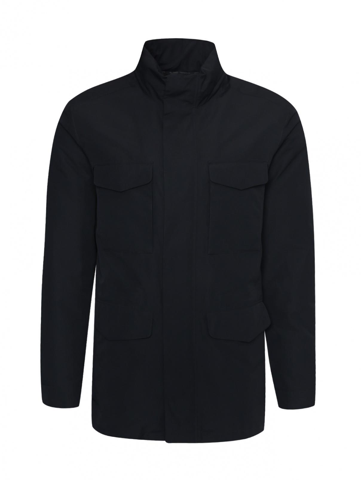 Куртка с накладными карманами Ermenegildo Zegna  –  Общий вид