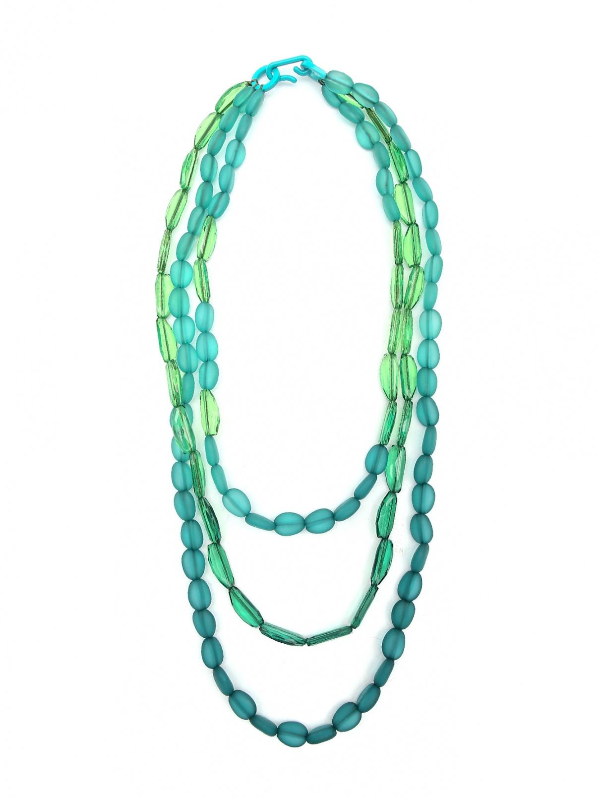Ожерелье многоярусное из пластика Marina Rinaldi  –  Общий вид