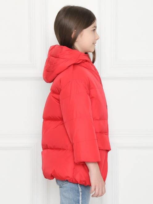 Куртка стеганая с капюшоном  - МодельВерхНиз2