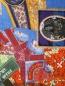 Платок из хлопка и шелка с принтом Eton  –  Деталь
