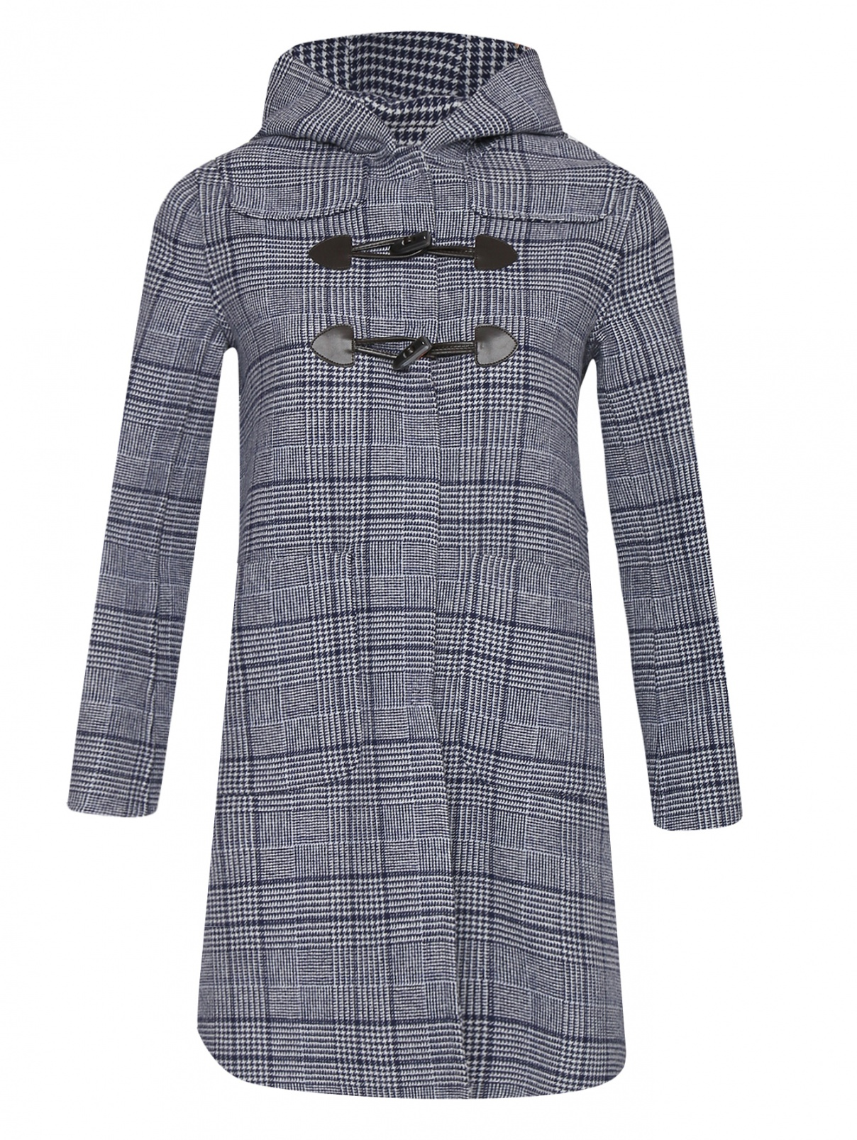 Пальто из шерсти с узором клетка Max&Co  –  Общий вид
