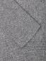 Джемпер из шерсти и кашемира свободного кроя Brown Allan  –  Деталь