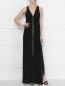 Платье-макси с декором стразами Erika Cavallini  –  МодельОбщийВид