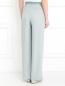 Укороченные брюки с декоративным поясом Emporio Armani  –  Модель Верх-Низ1