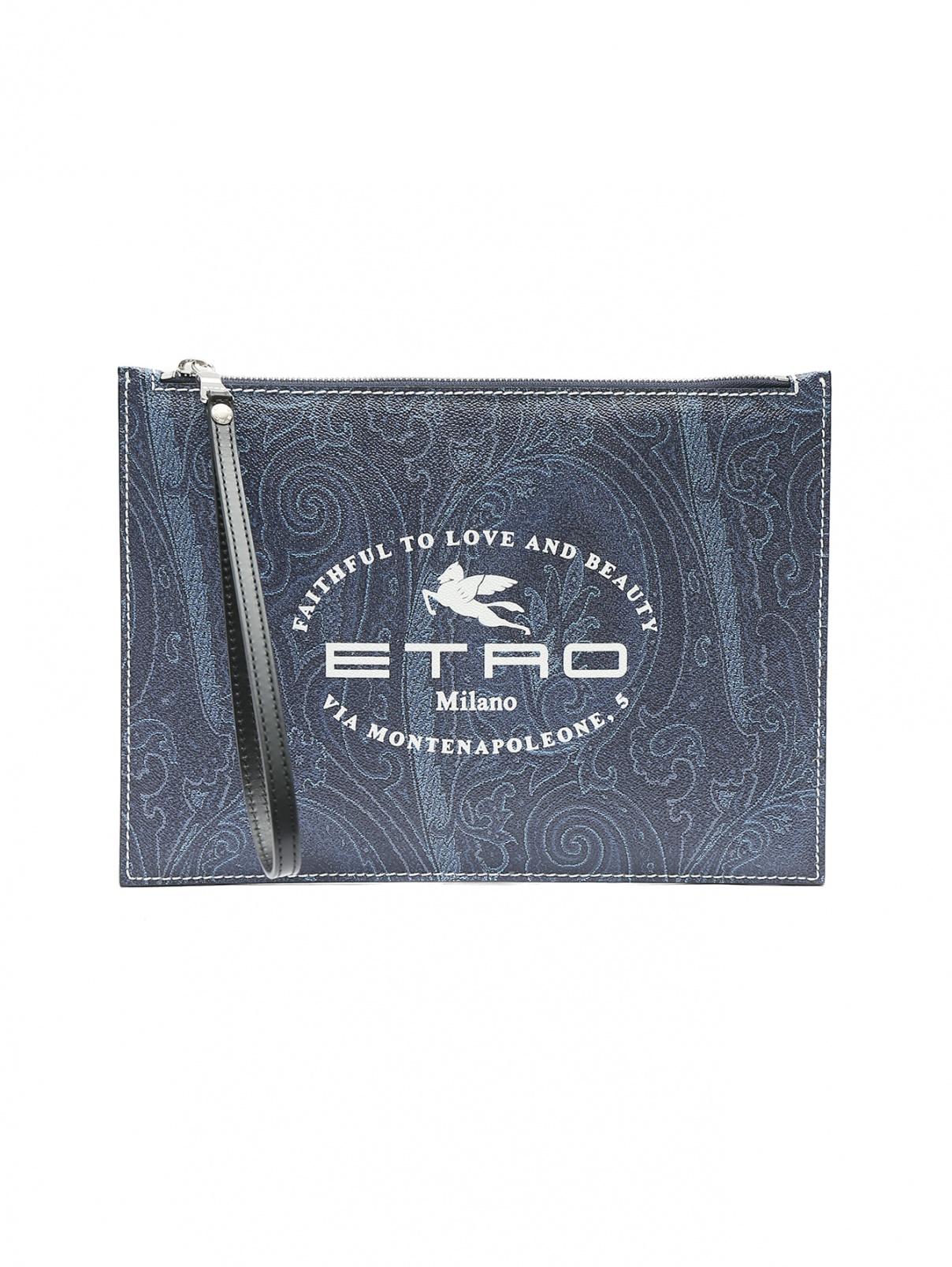 Чехол для IPad из эко-кожи с принтом Etro  –  Общий вид