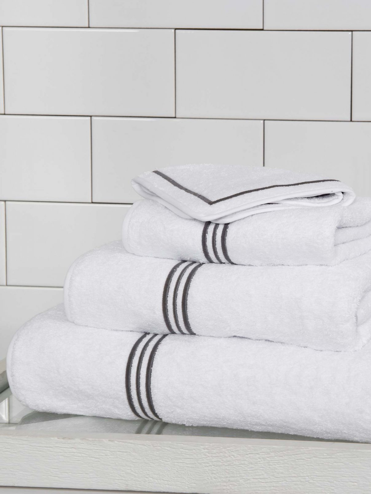 Полотенце банное 100 х 150 см Triplo Bourdon Frette  –  Общий вид