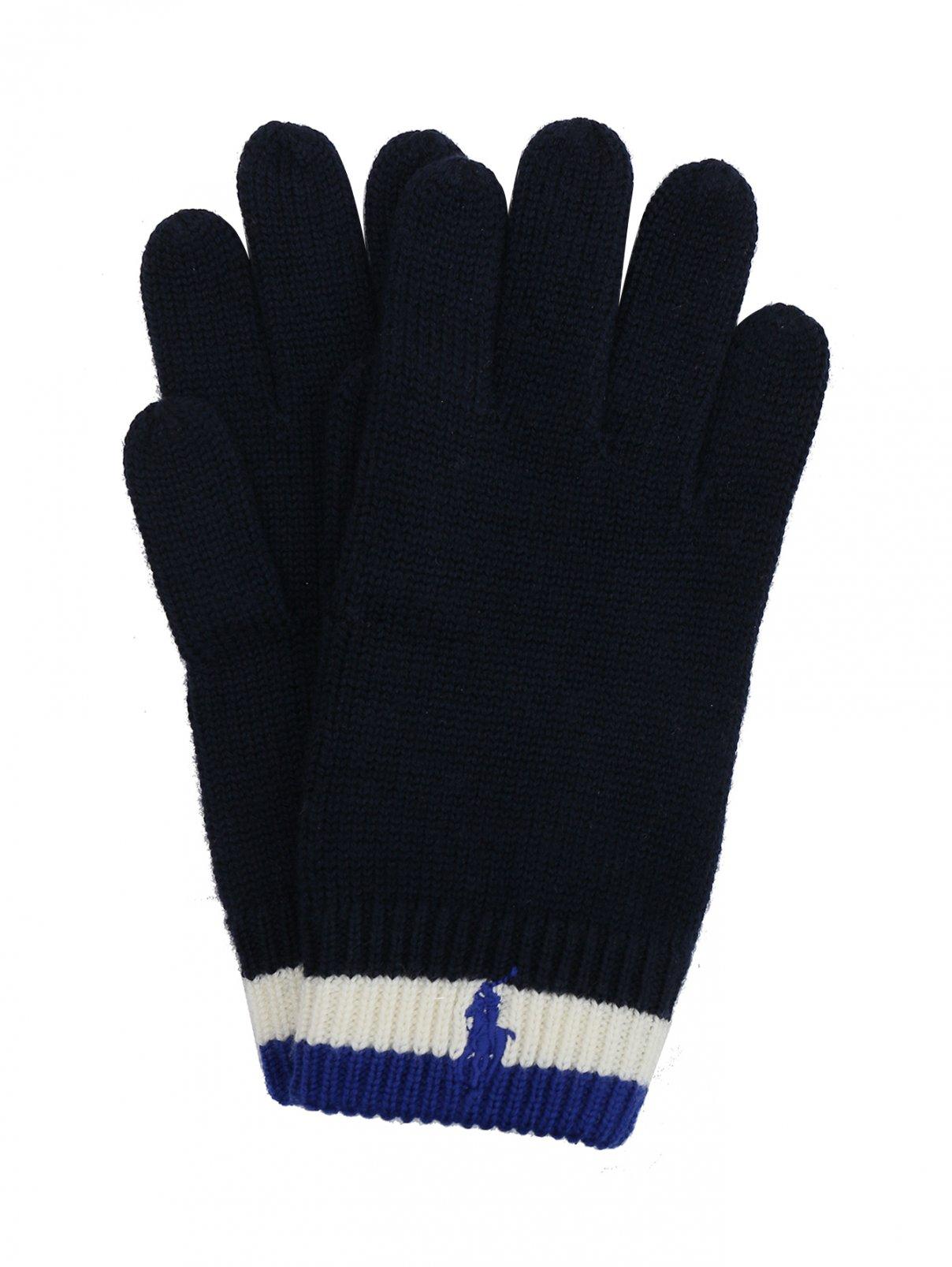 Перчатки из шерсти с декором Ralph Lauren  –  Общий вид