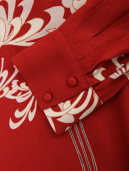 Платье с узором - Деталь