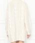 Платье-мини крупной вязки декорированное пайетками Moschino  –  МодельВерхНиз1