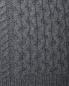 Джемпер из шерсти с узорной вязкой Brooks Brothers  –  Деталь