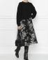 Юбка-миди с декоративной вышивкой Antonio Marras  –  МодельОбщийВид