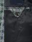 Пиджак однобортный из шерсти с узором LARDINI  –  Деталь2