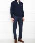 Джемпер из шерстии с молнией и вышивкой Etro  –  МодельОбщийВид