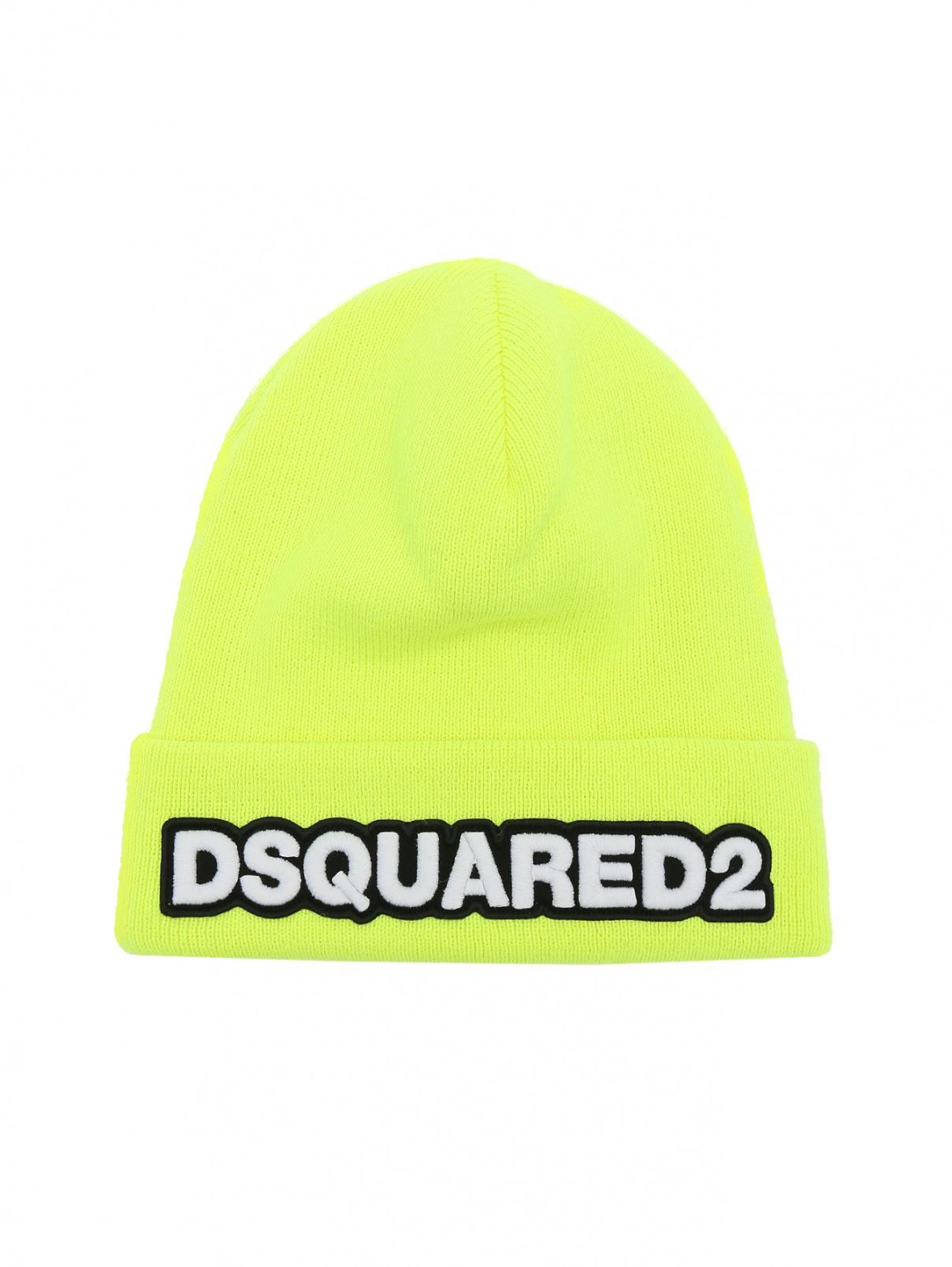 Шапка из шерсти Dsquared2  –  Общий вид