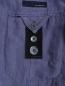Пиджак однобортный из льна и шелка LARDINI  –  Деталь2