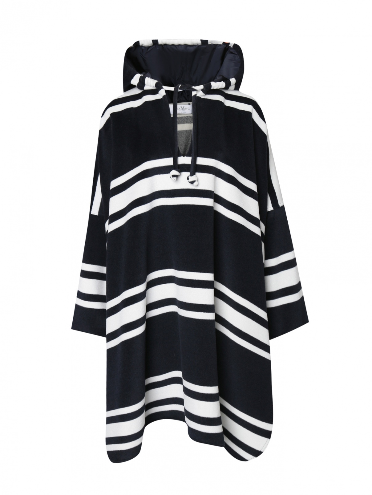 Пальто из шерсти и кашемира свободного кроя Max Mara  –  Общий вид