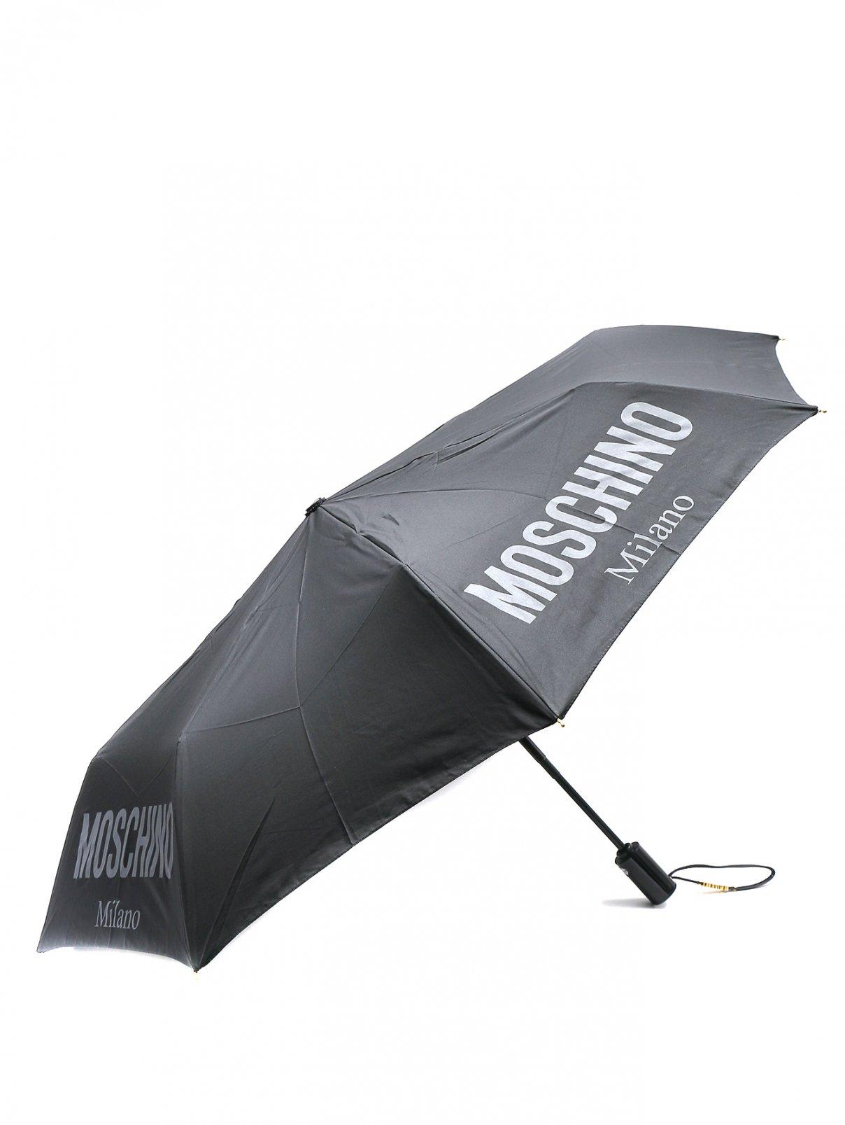 Зонт с логотипом Moschino  –  Общий вид