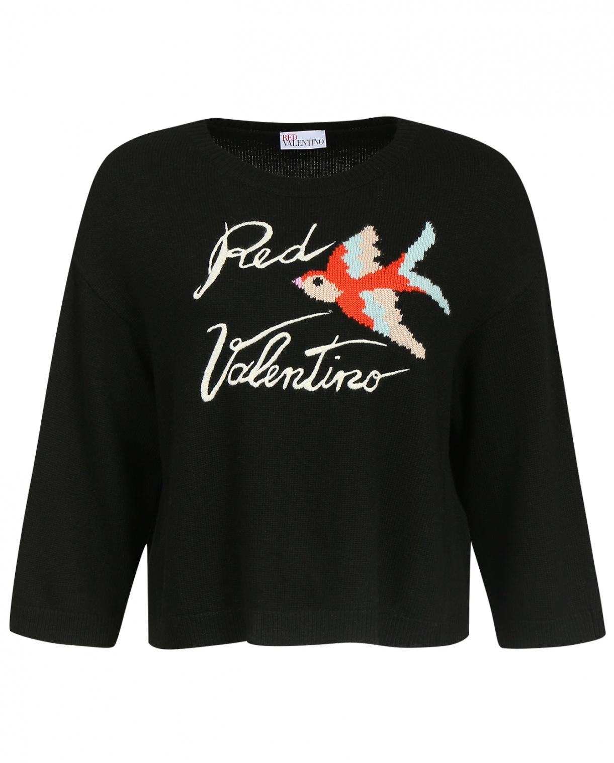 Джемпер из кашемира с узором Red Valentino  –  Общий вид