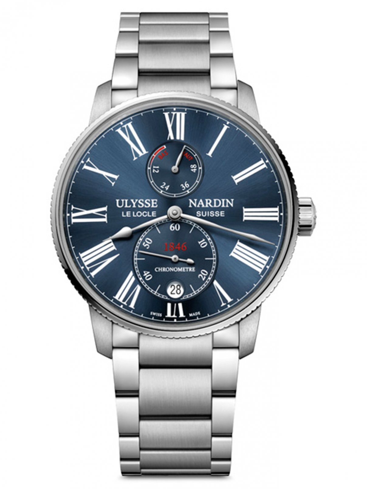 Часы 1183-310-7M/43 Marine Chronometer Ulysse Nardin  –  Общий вид
