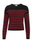Джемпер из смесовой шерсти с узором Red Valentino  –  Общий вид