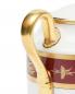 Сахарница из фарфора с узором и золотой окантовкой Ginori 1735  –  Деталь
