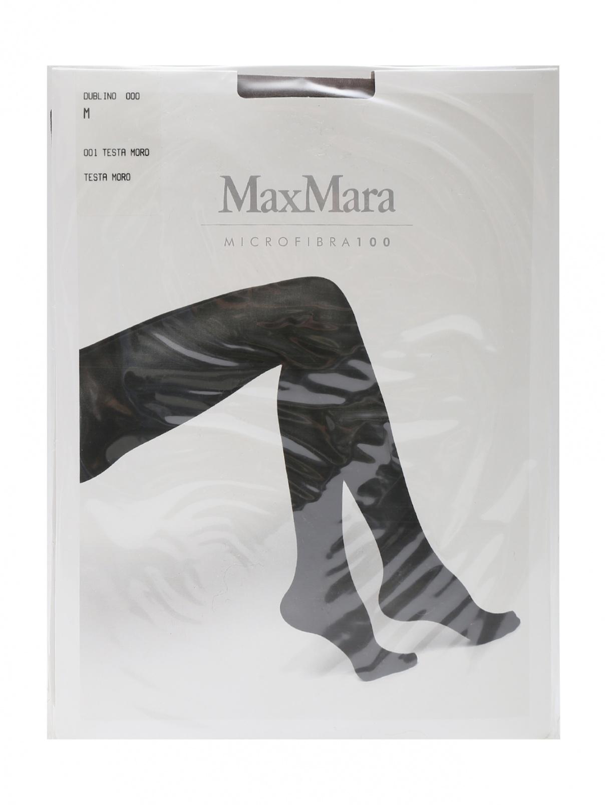 Колготки черные 100 den Max Mara  –  Общий вид