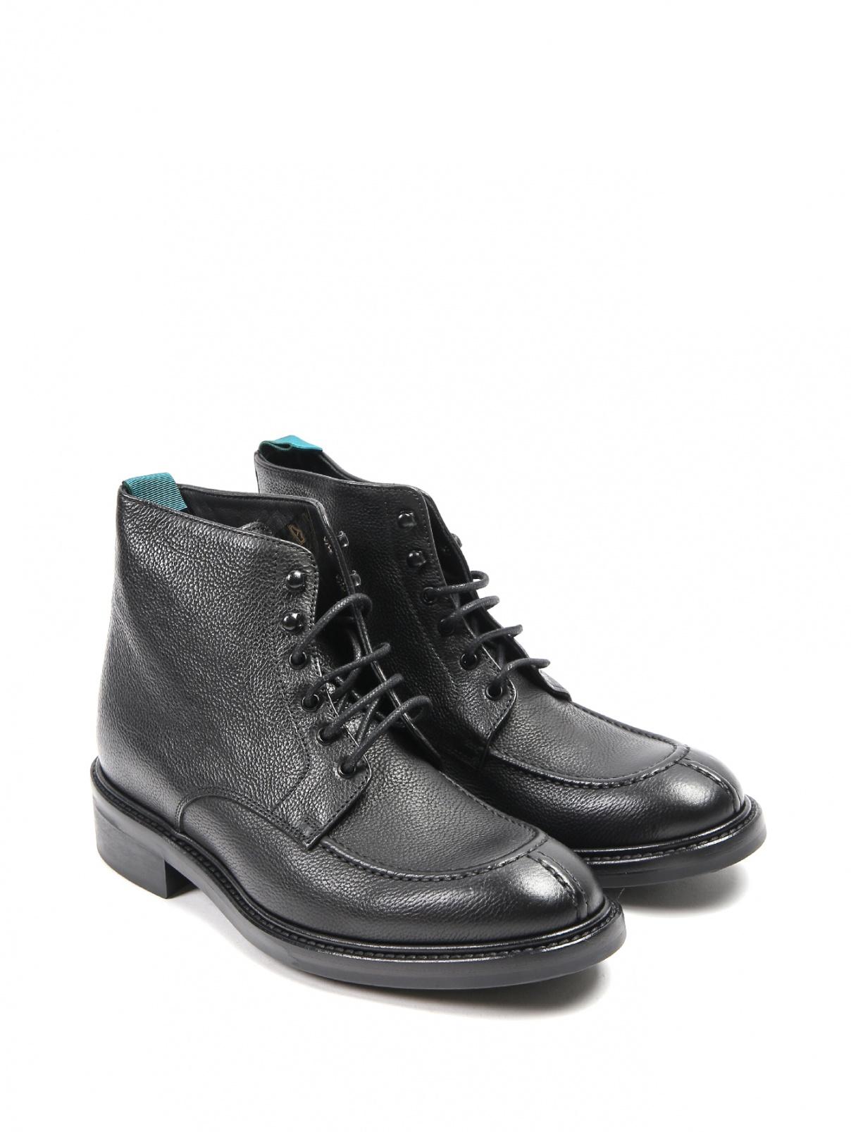 Ботинки кожаные на шнурках Paul Smith  –  Общий вид