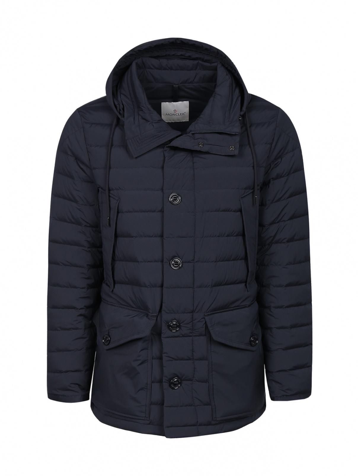 Куртка стеганая с капюшоном Moncler  –  Общий вид