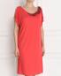 Платье с аппликацией из бисера Alberta Ferretti  –  Модель Верх-Низ