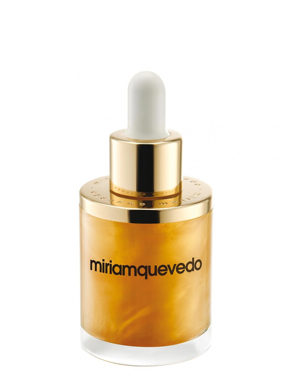 Масло для волос с золотом 24 карата - Hair Care, 50ml Miriamquevedo  –  Общий вид
