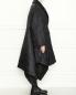 Двубортное пальто свободного кроя с узором J.W. Anderson  –  МодельВерхНиз2