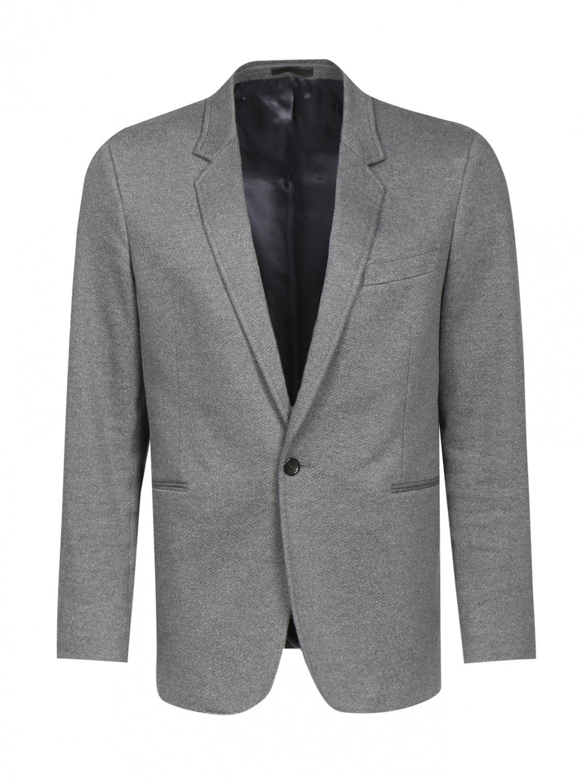 Пиджак однобортный из хлопка Paul Smith  –  Общий вид