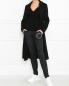 Трикотажные брюки с логотипом Love Moschino  –  МодельОбщийВид