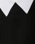 Платье макси из шелка  свободного кроя с контрастным воротником Ulyana Sergeenko  –  Деталь