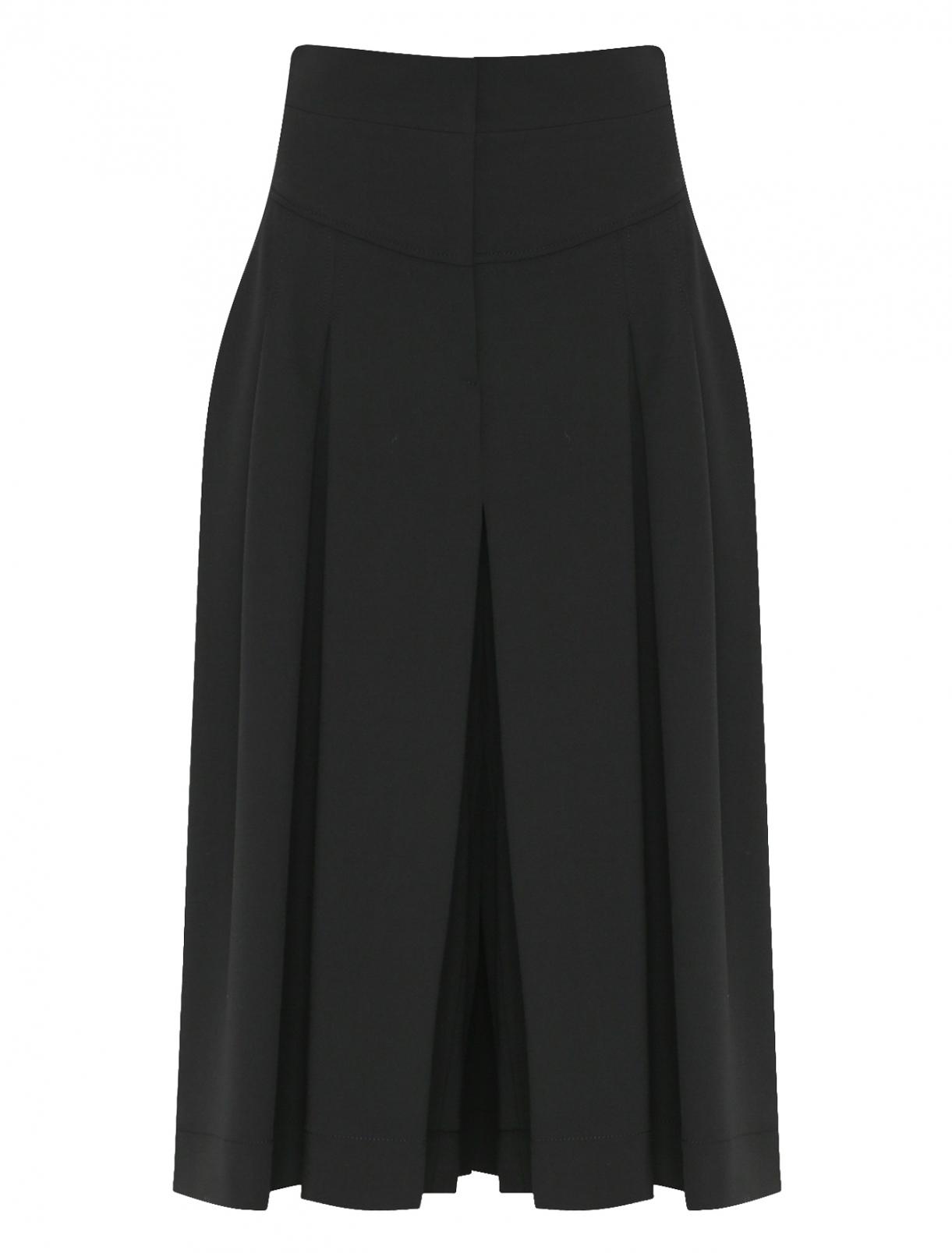 Укороченные брюки из смешанной шерсти Alberta Ferretti  –  Общий вид