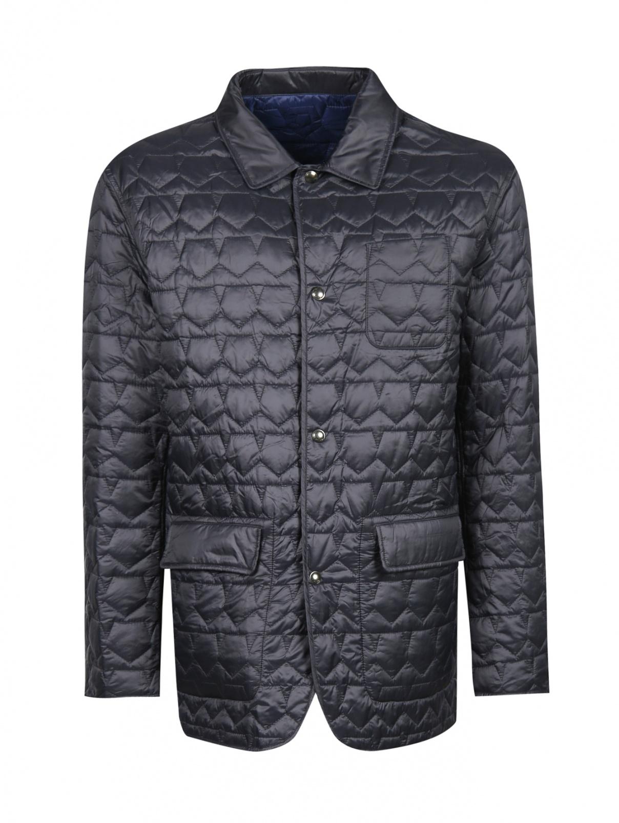 Куртка стеганая на кнопках Ermenegildo Zegna  –  Общий вид