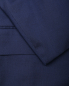 Костюм из шерсти  и шелка с аппликацией на лацкане Isaia  –  Деталь