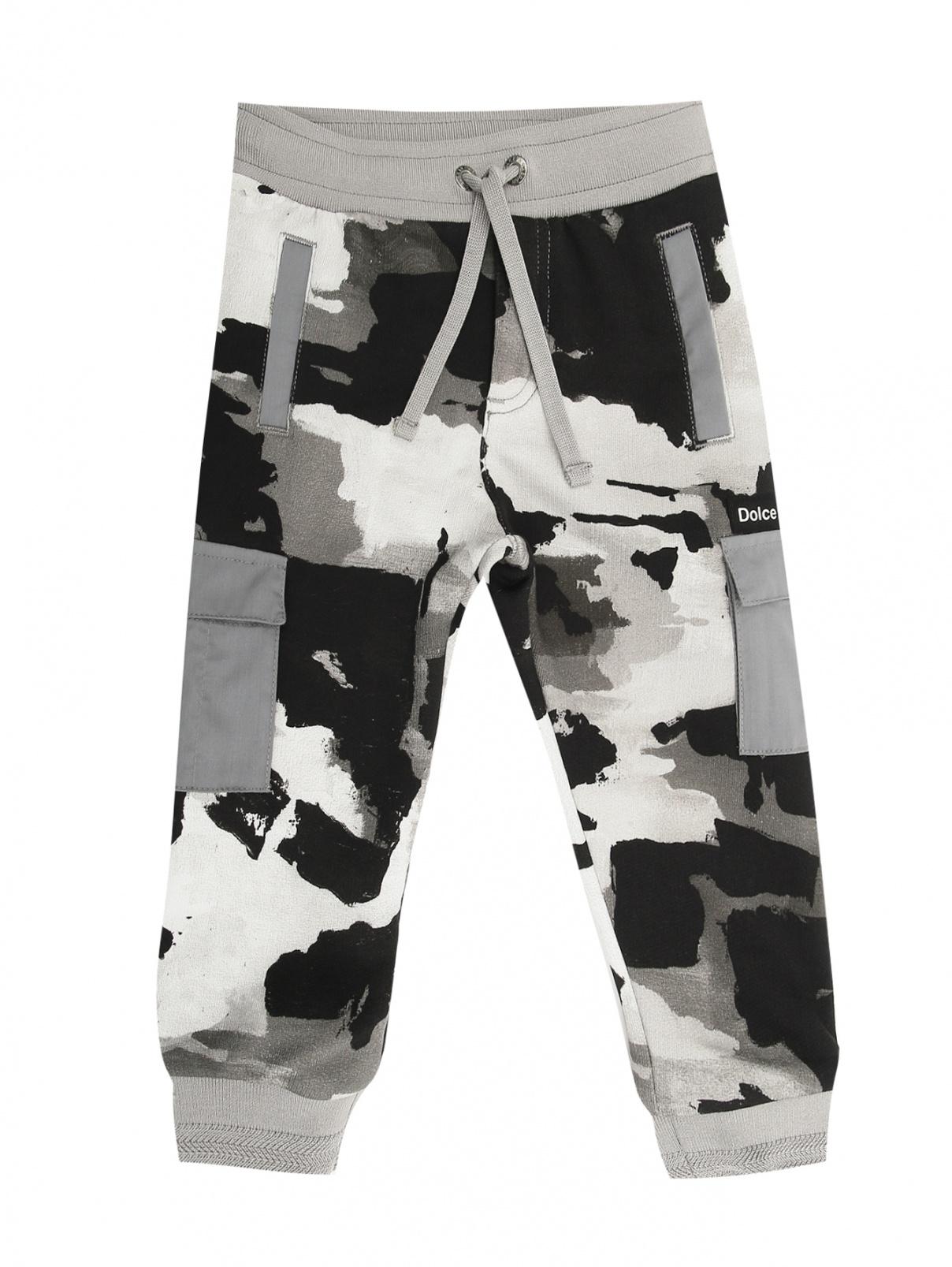 Трикотажные брюки с карманами Dolce & Gabbana  –  Общий вид