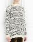 Джемпер из шерсти с узором Etro  –  Модель Верх-Низ
