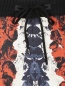 Брюки на резинке из шелка с узором Jean Paul Gaultier  –  Деталь1