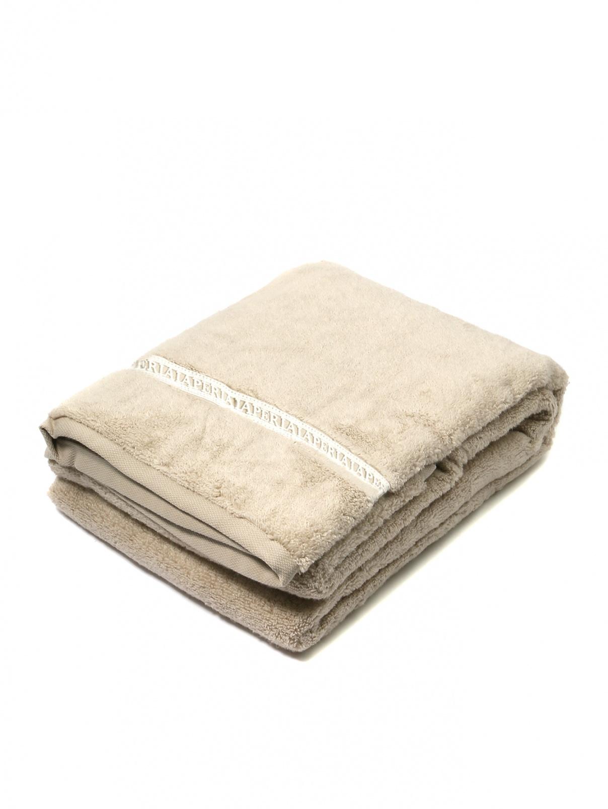 Полотенце из хлопковой махровой ткани с вышивкой 100 x 150 La Perla  –  Общий вид