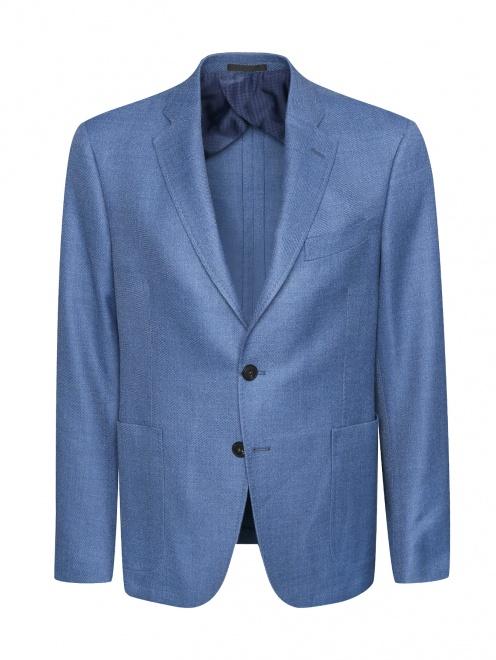 Пиджак из смешанной шерсти  - Общий вид