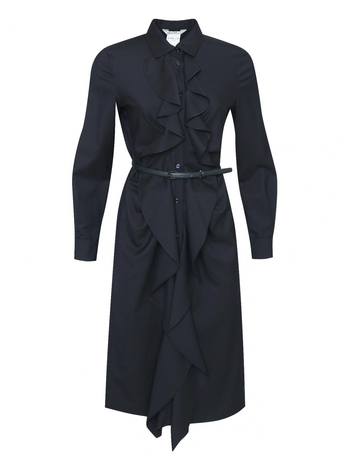 Платье из шерсти с жабо Max Mara  –  Общий вид