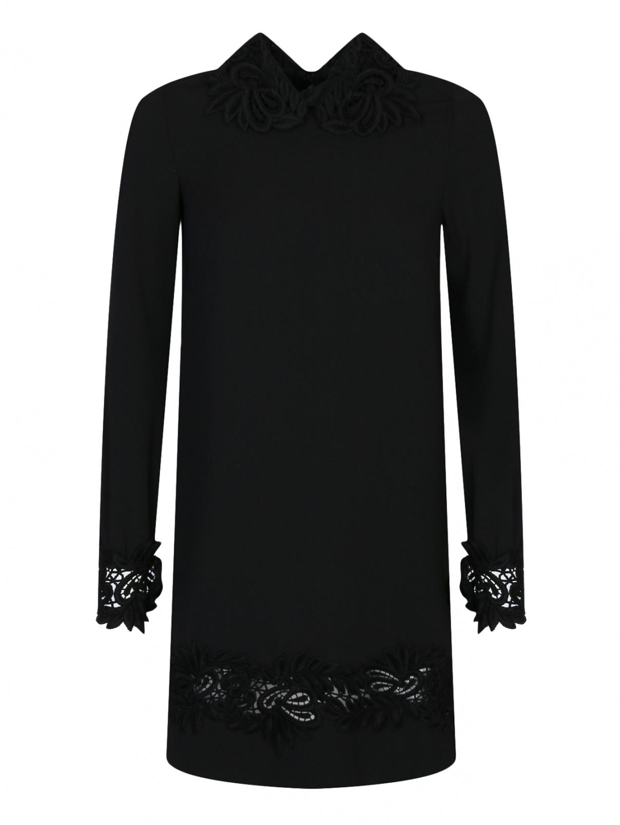 Платье с кружевной отделкой Ermanno Scervino  –  Общий вид