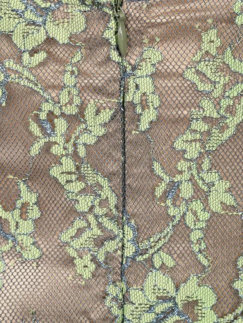 Платье-миди из кружева с рукавами 3/4 Akhmadullina Dreams - Деталь1