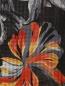 Шарф из шелка с цветочным узором и бахромой Etro  –  Деталь