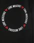 Трикотажные брюки с логотипом Love Moschino  –  Деталь