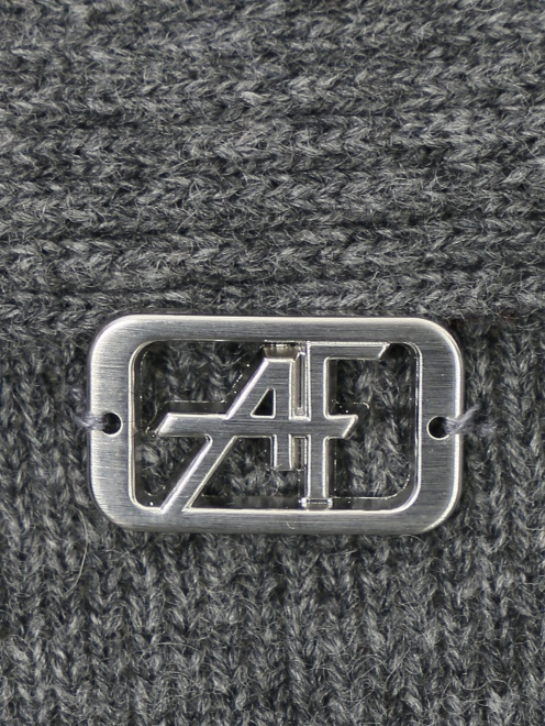 Кардиган из шерсти и кашемира с поясом Alberta Ferretti - Деталь1