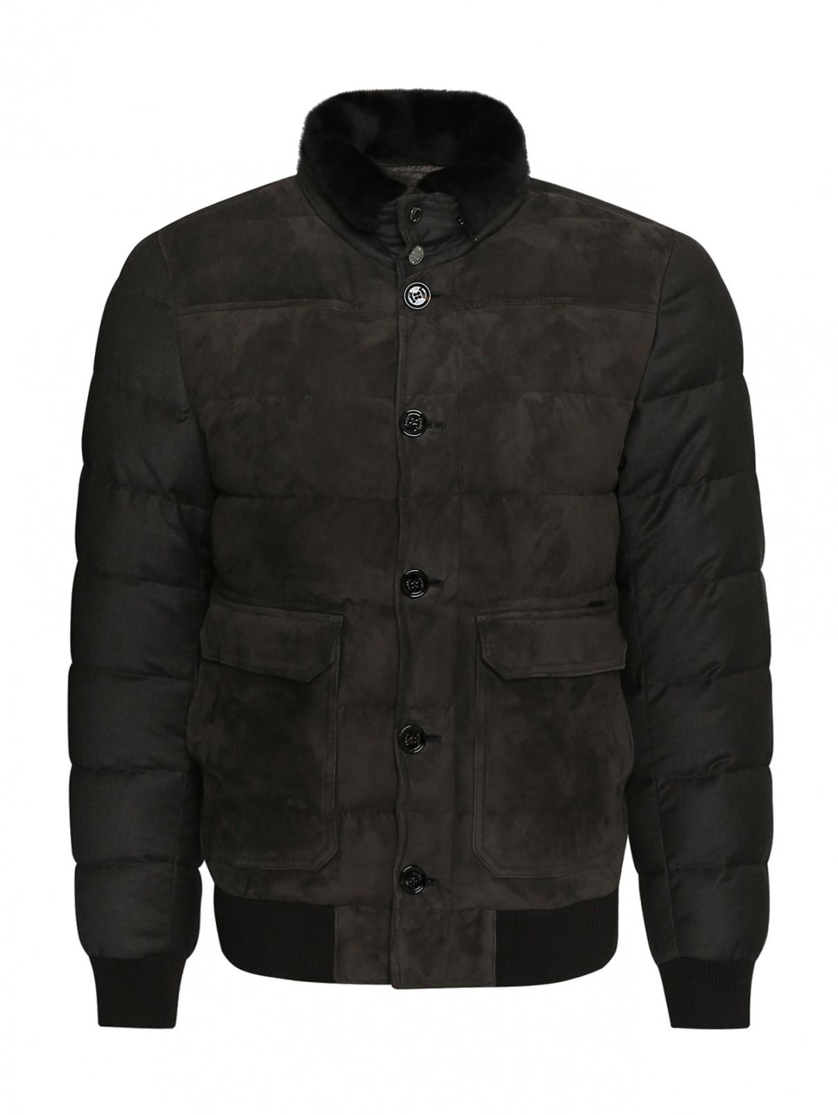 Куртка из замши Moorer  –  Общий вид
