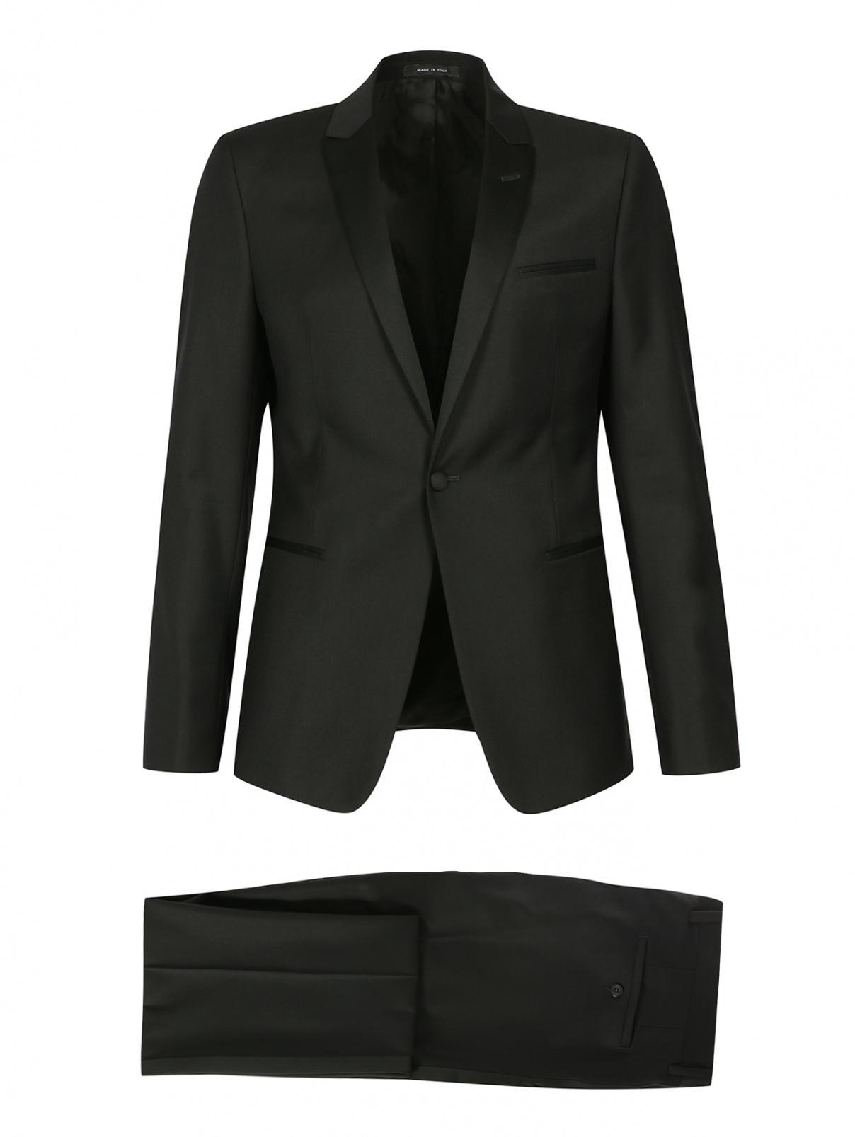 Классический костюм из шерсти Emporio Armani  –  Общий вид